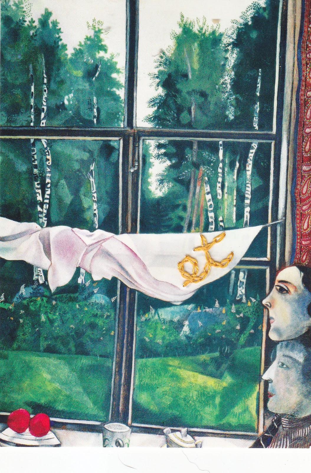Inutilidade das palavras maio 2013 for Marc chagall paris vu de ma fenetre