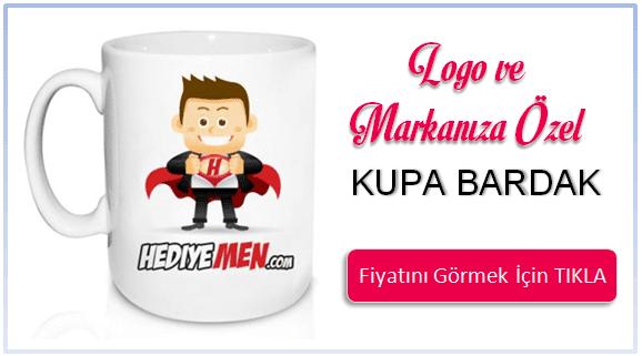 Firmalara Özel Logo Baskılı Kupa