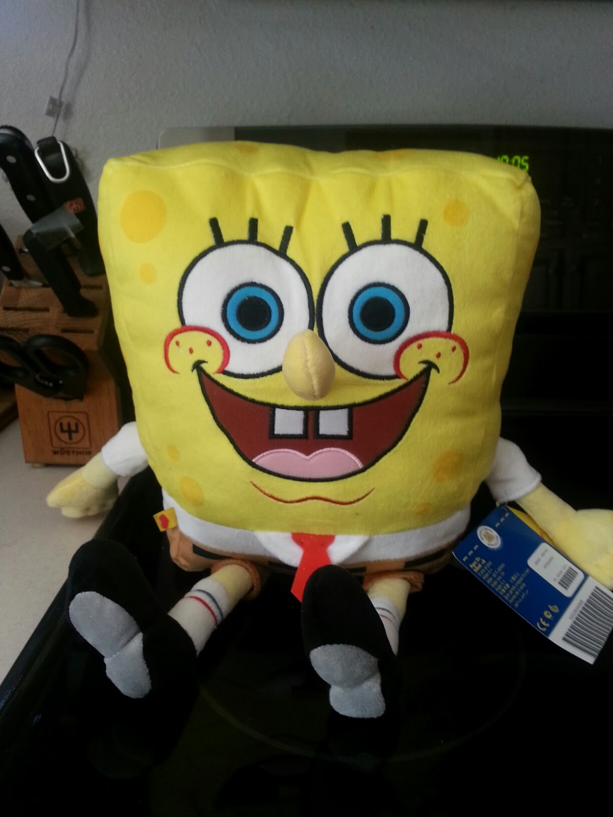 Grammy2kaiden Make A New Spongebob Friend Theus Waxvac When Arrived At My House He Was Tucked Aside Until The 5 Year Old Home Walked In Door And Poor Little All Away