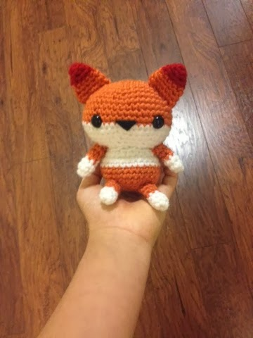 Spool of Sunshine: Pattern: Amigurumi Fox