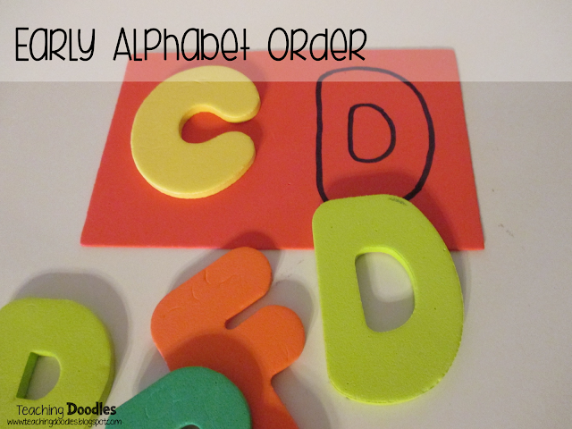 Emergent Readers ABC Order