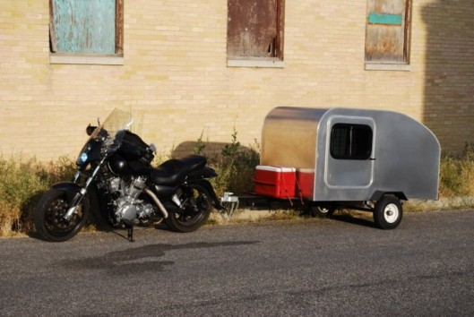 Moby1 Motorcycle Trailer | Moby1 Motorcycle Trailer Price $6500 | Moby1 C2 trailer | way2speed.com The Moby1 C2 Compact Motorcycle Teardrop Trailer