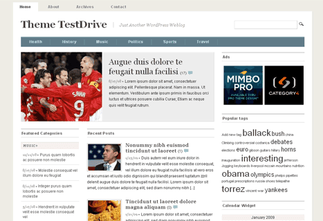mimbo3 16 Best 2012 Free WordPress Themes