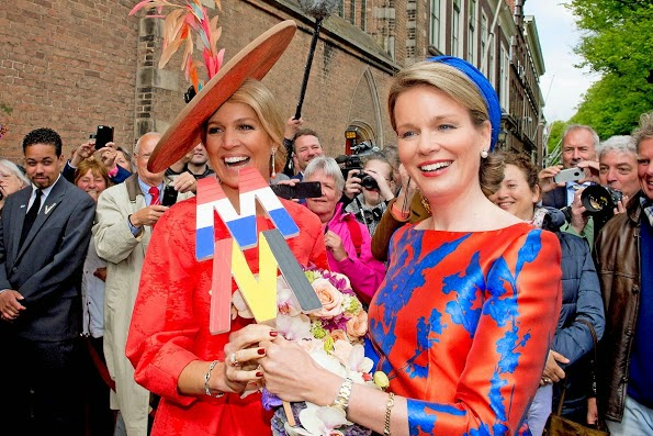 Queen Maxima And Queen Mathilde Open Sculpture Exhibition Vormidable