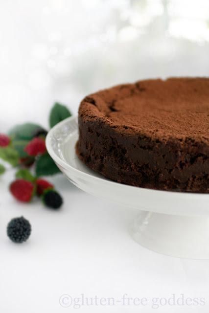 Gluten free truffle cake