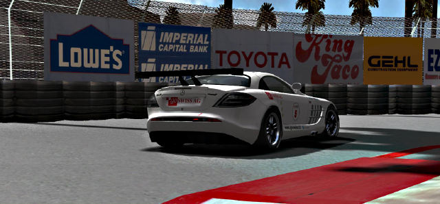 Mercedes SLR in rFactor GTDream 5.2