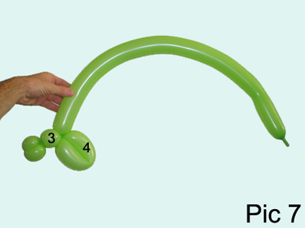 balloon animal instructions step by step