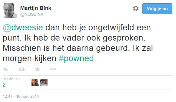 Dank je wel Ronald Plasterk (PvdA), voor PowNed.