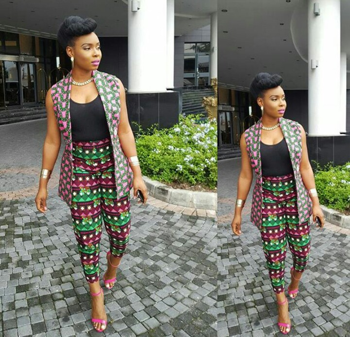 Image result for yemi alade in ankara outfits