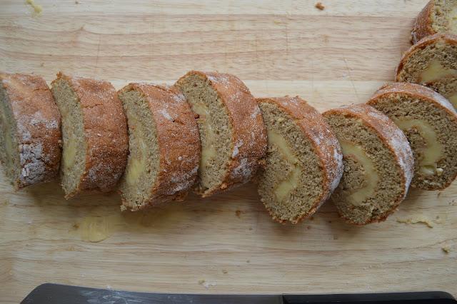 Honey Cream Swiss Roll