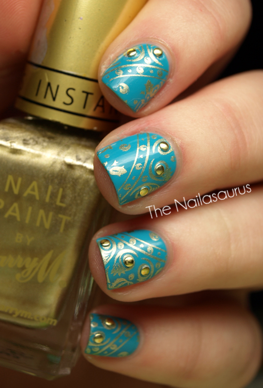 Barry M Gold Foil Stamping