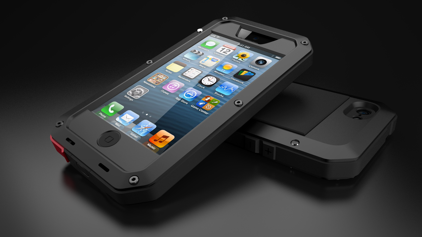 Technology Committee Taktik Iphone 5 Case From Lunatik