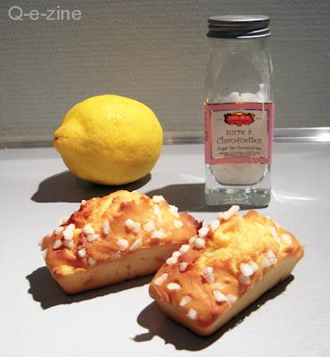 petits cakes portugais au citron