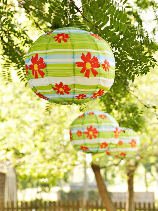 enfeites japoneses para jardim:Entrerosaseprincesas: Toques coloridos para decoração exterior