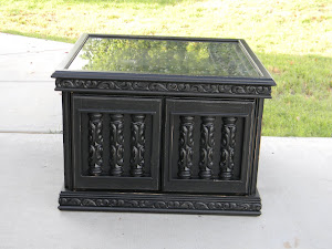 Black End Table  *SOLD*