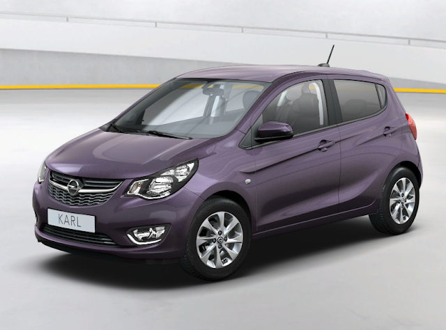 Opel Karl 2016 Couleurs Colors