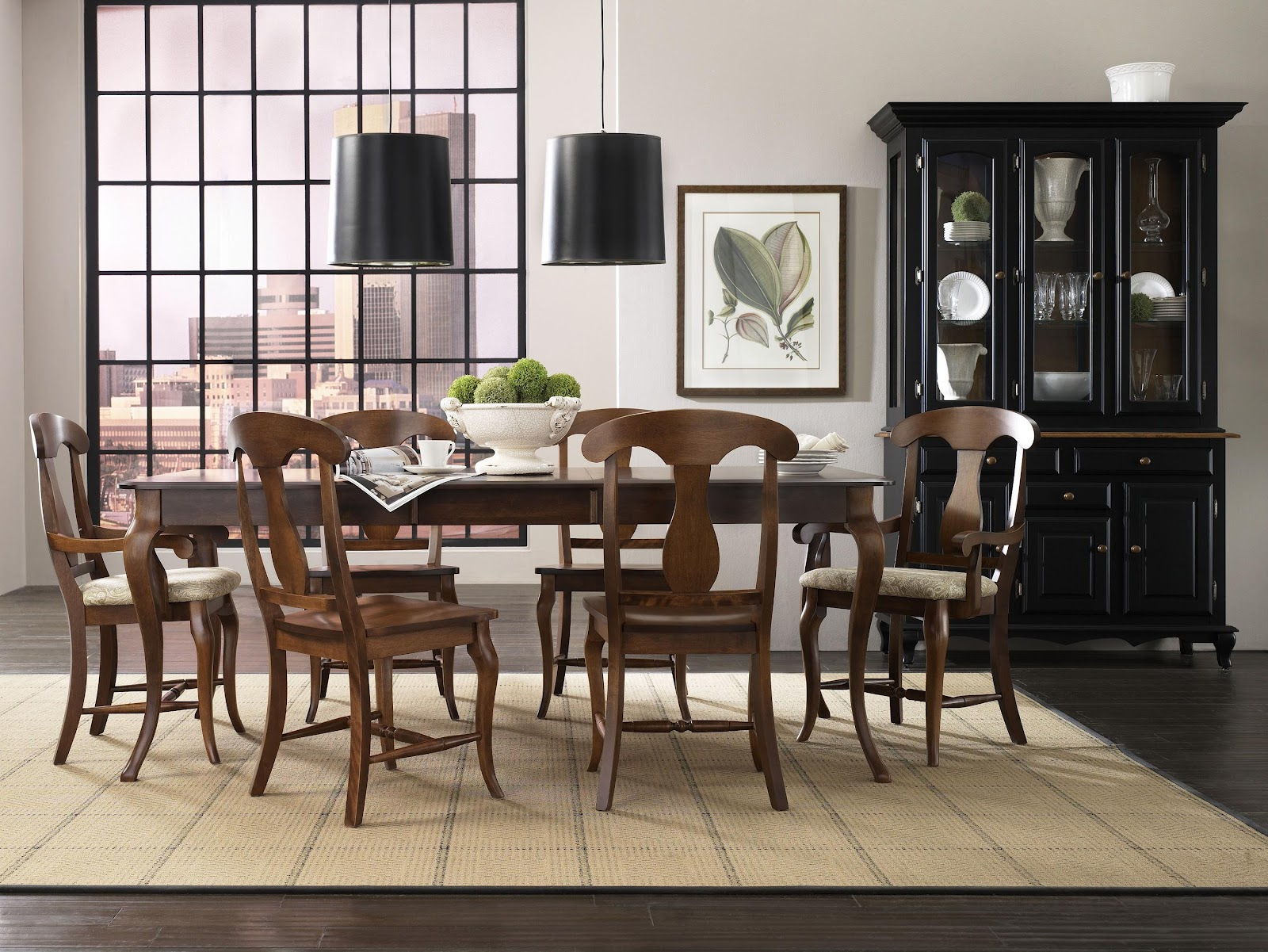 Canadel dining room sets new york dining room unique for M and s dining