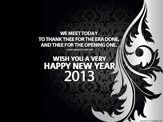 wish you happy new year 2013 quote