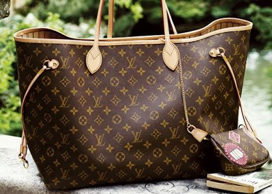 Me Under The Radar: My B'day Gift: LV Neverfull MM Monogram