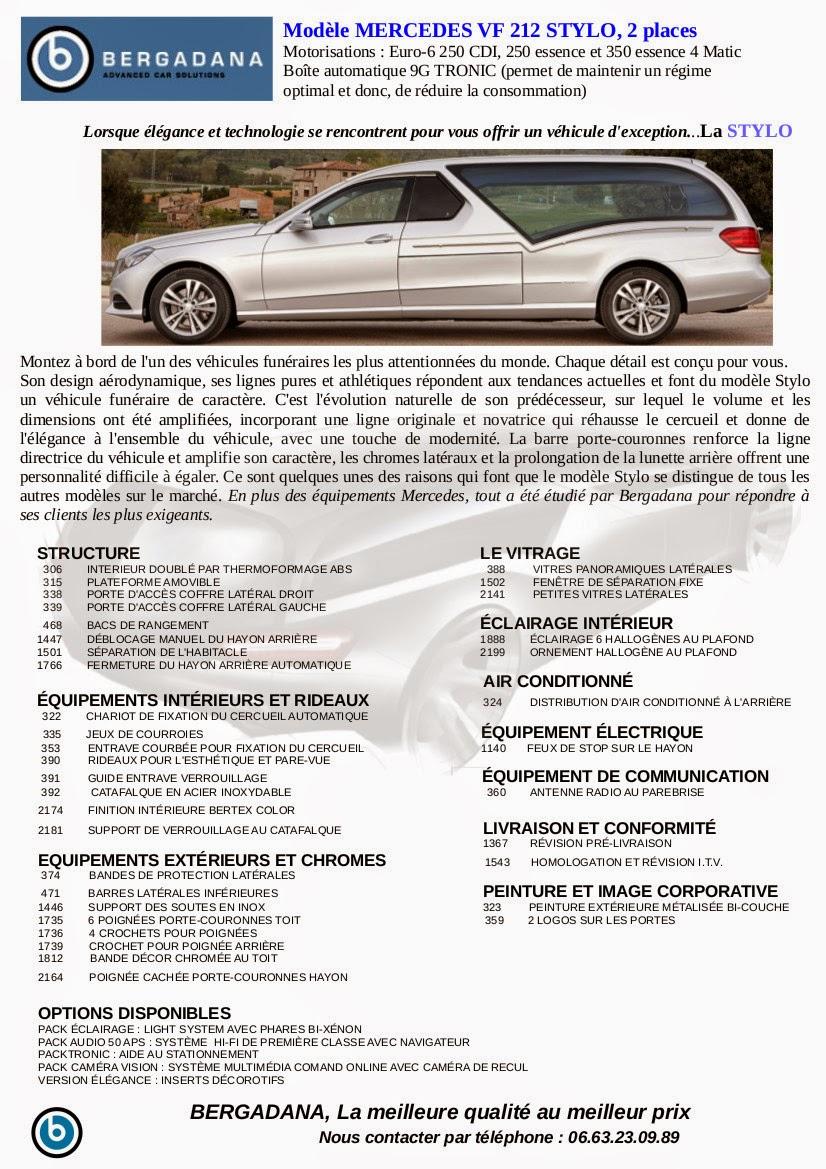 Corbillard limousine STYLO