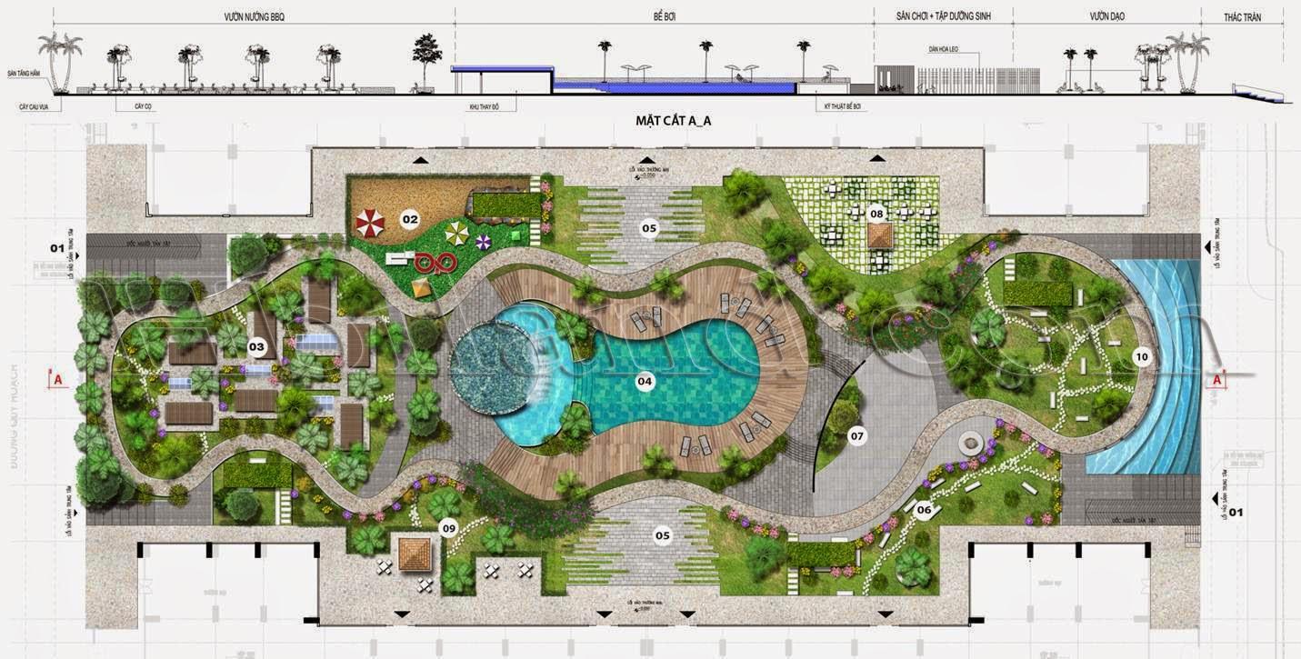 mặt bằng quy hoạch dự án imperia garden 203 nguyễn huy tưởng