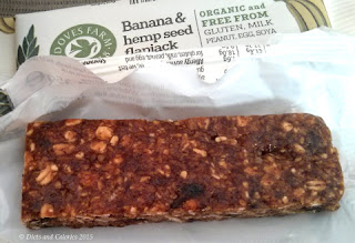 Doves Farm Organic Gluten Free Banana and hemp seed Flapjacks
