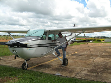 Preparando pra voar