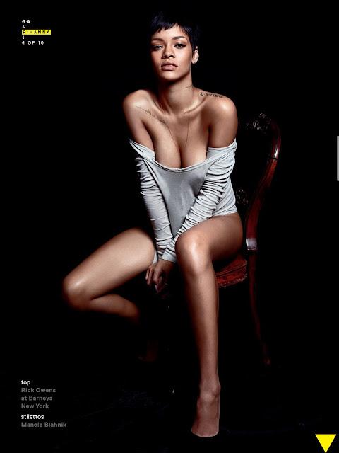 Rihanna – GQ Magazine