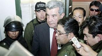 la crueldad de Evo es infinita. ahora lo manda al Altiplano sin juicio ni sentencia