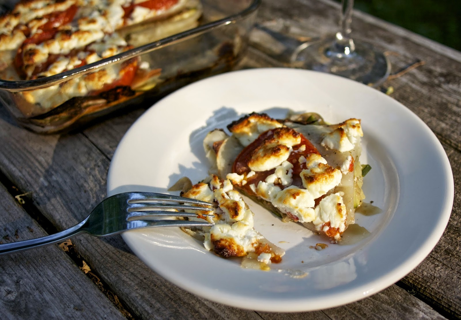 Vegetable Casserole- Briam- simplelivingeating.com