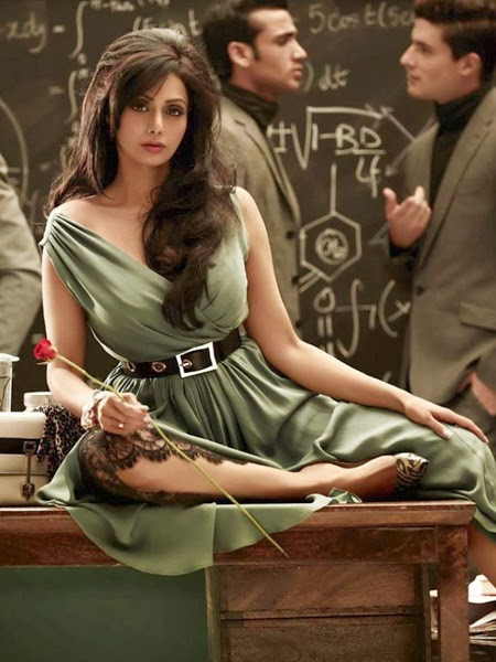 Sridevi's Vogue Photoshoot