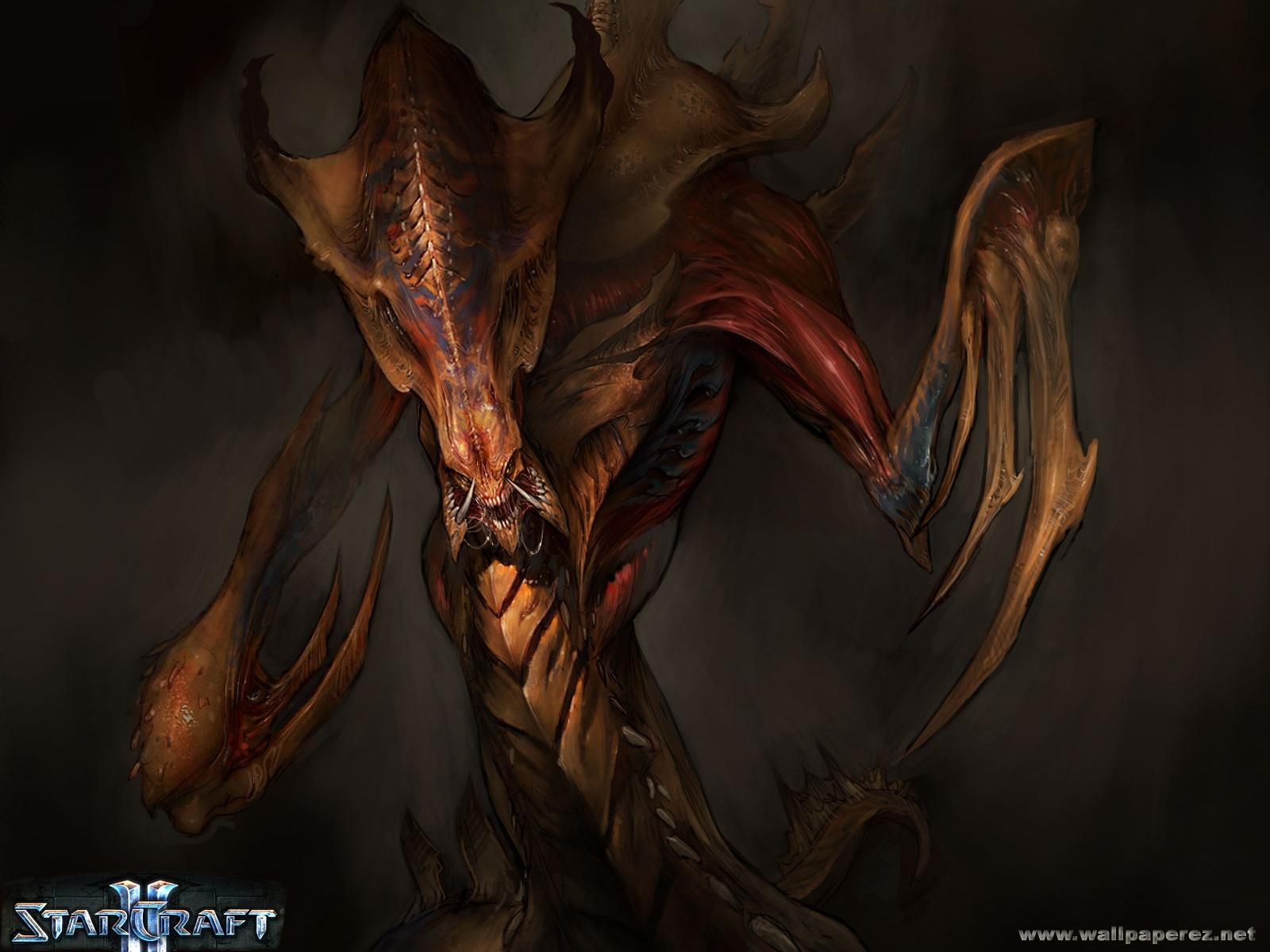 StarCraft 2 zerg lurker wallpaper 03 Hd Wallpapers Starcraft 2