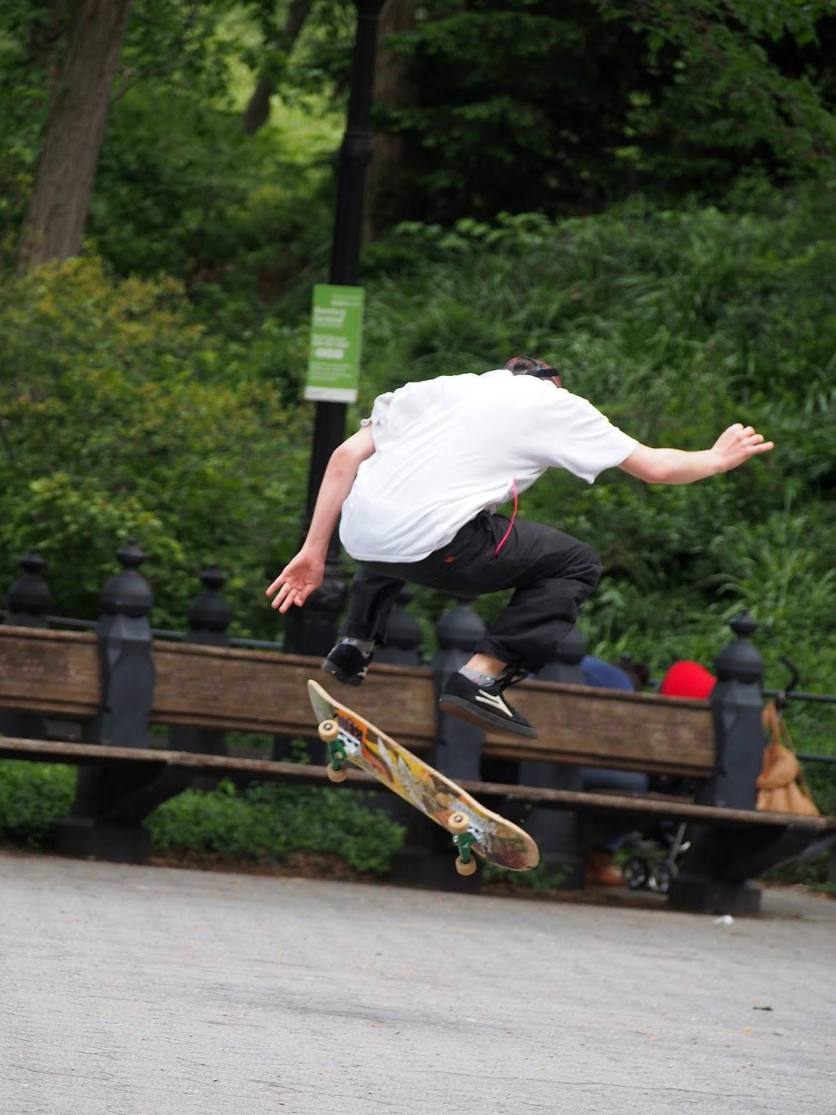 Jump #skaterboarder #nyc #nycstreetscenes 2014