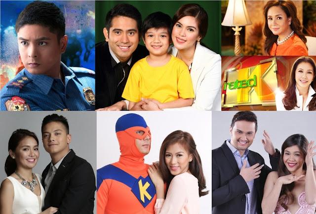top Kapamilya programs September 2015