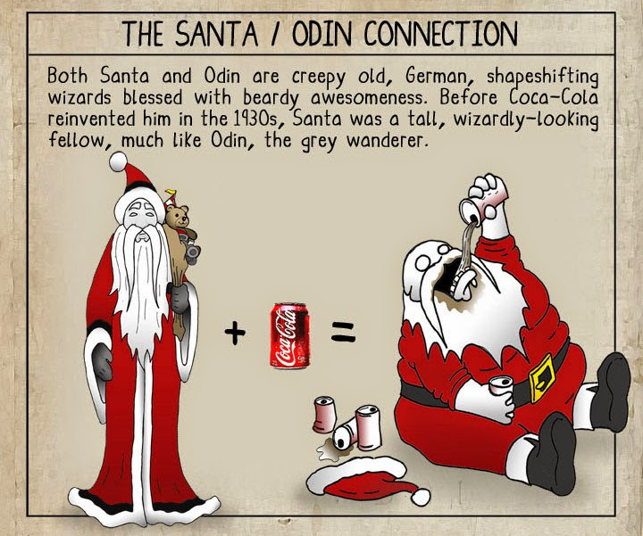 Bloody Pit of Rod: Santa is Odin! by Eric W. Brown