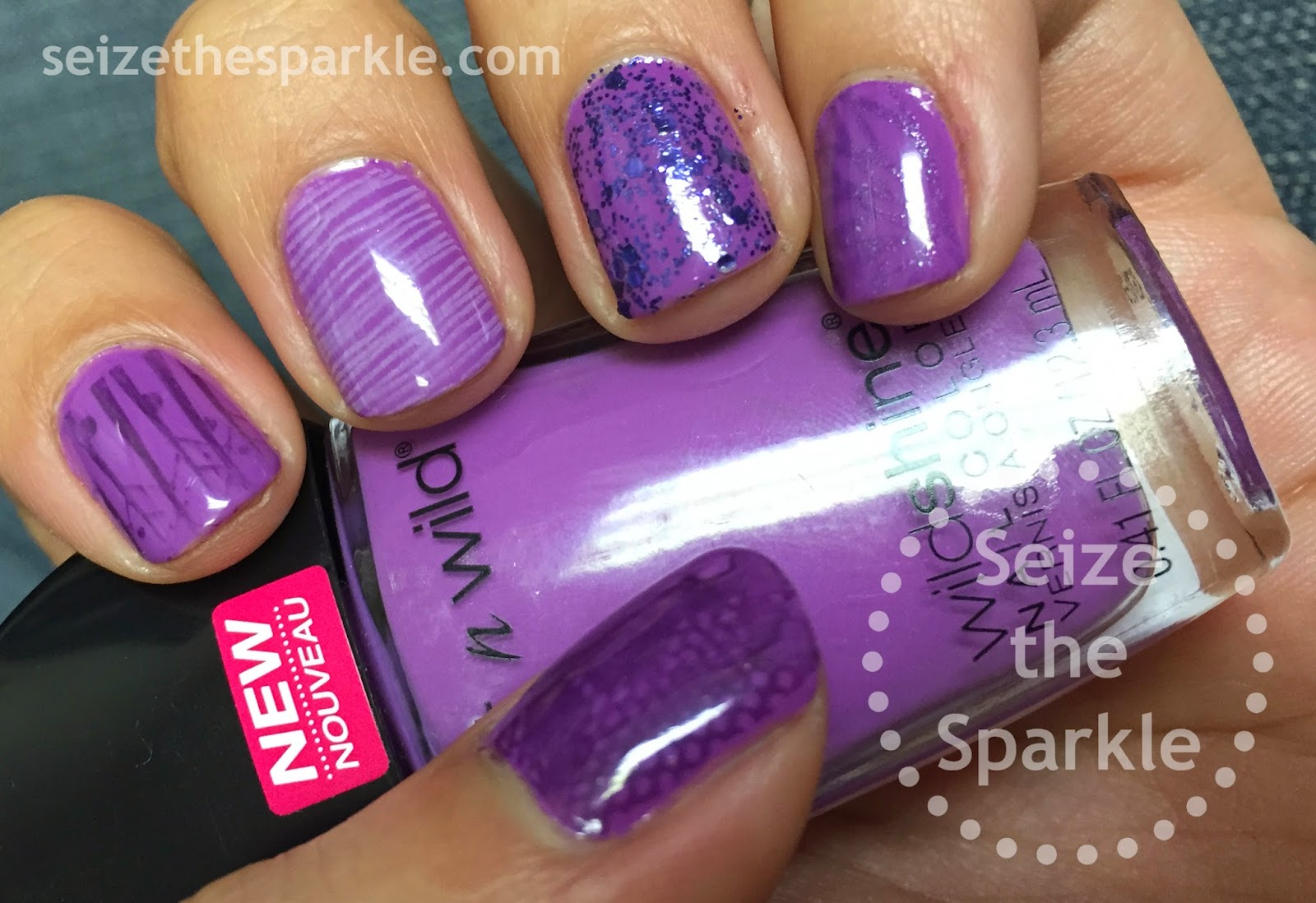 Monchromatic Manicure