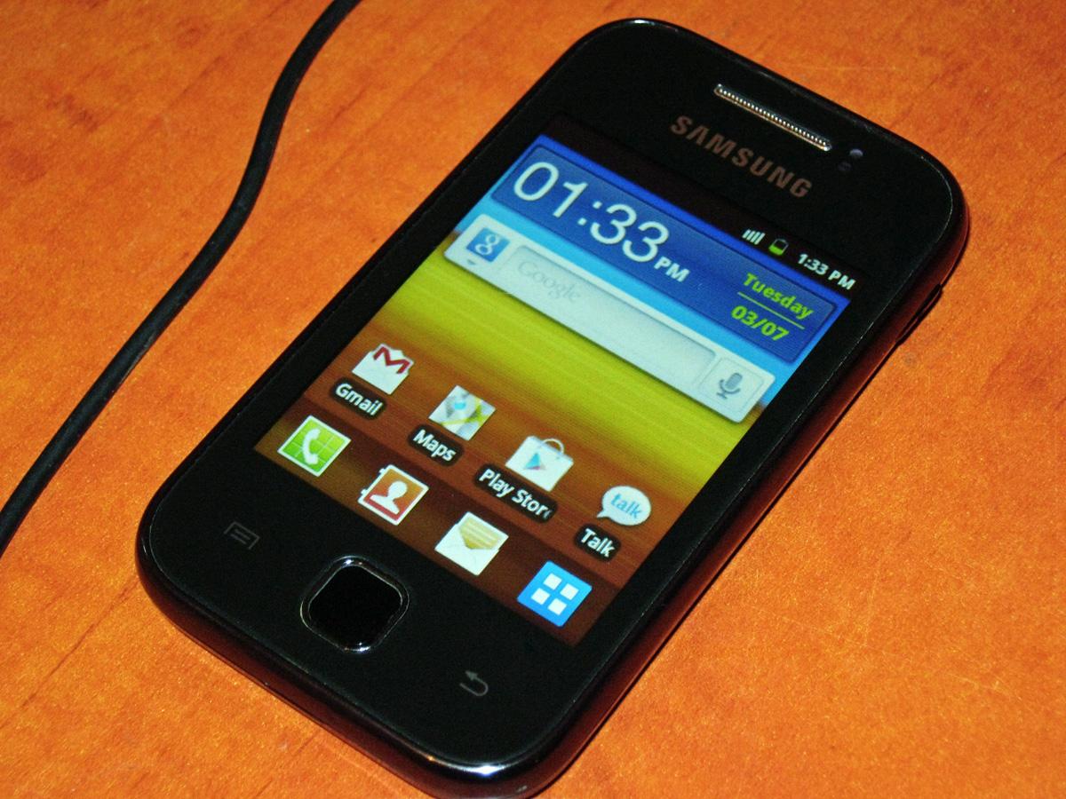Hp Android Harga 1 Jutaan - Samsung Galaxy Y