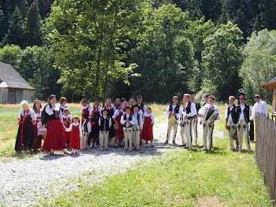Orawa, Babia Góra, Zubrzyca Górna, Park Etnograficzny, Święto Borówki