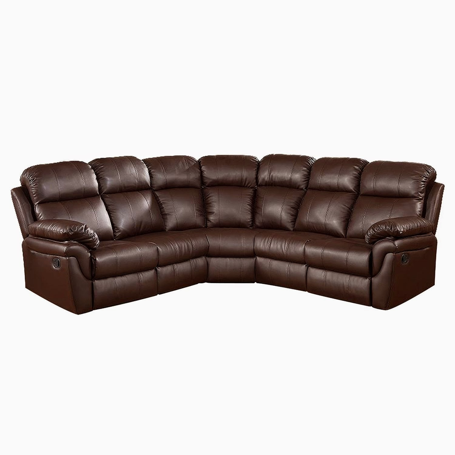 The best reclining sofas reviews reclining sectional sofas for Sectional sofa with a recliner