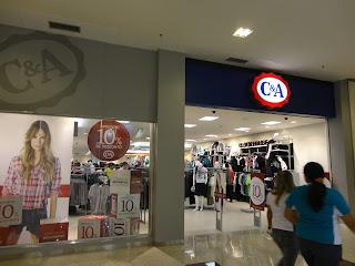 C&A Cariri Shopping.