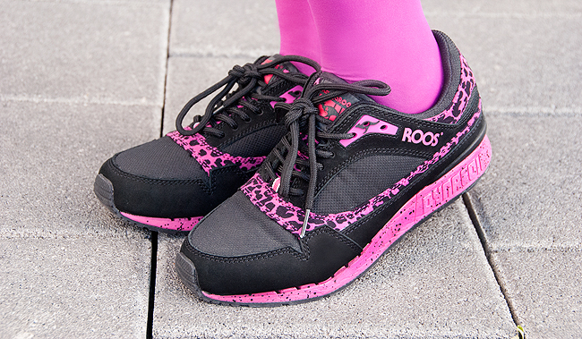 Urbanpeople, pink sneakers, kangaroos