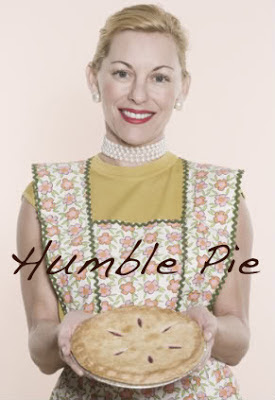 fifties mom serving pie