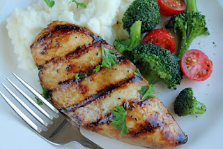 Move it and lose it.: EASY GRILLED CHICKEN