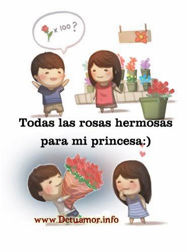 Todas las rosas hermosas para mi princesa :), imagenes de amor bonitas para facebook.
