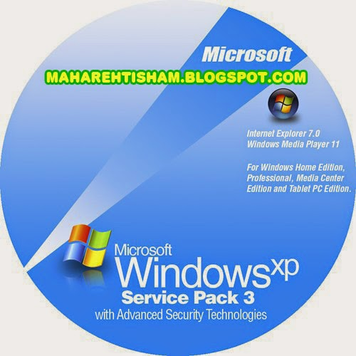 Windows xp service pack 3 mahar ehtisham for Window xp service pack 3
