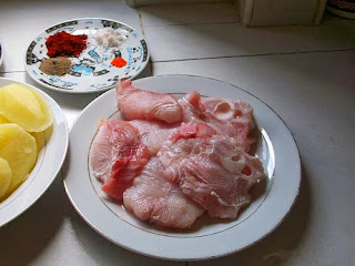 كيفية عمل السمك في الفرن على الطريقة المغربية
