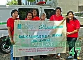 Bank Sampah Melati Bersih LPM Lentera Pamulang Tangerang Selatan