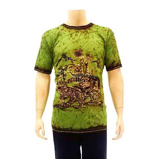 Model Baju Kaos Batik Pria Terbaru 2013