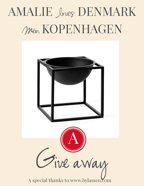 Amalie loves Denmark - Mein Kopenhagen Buch und Give away