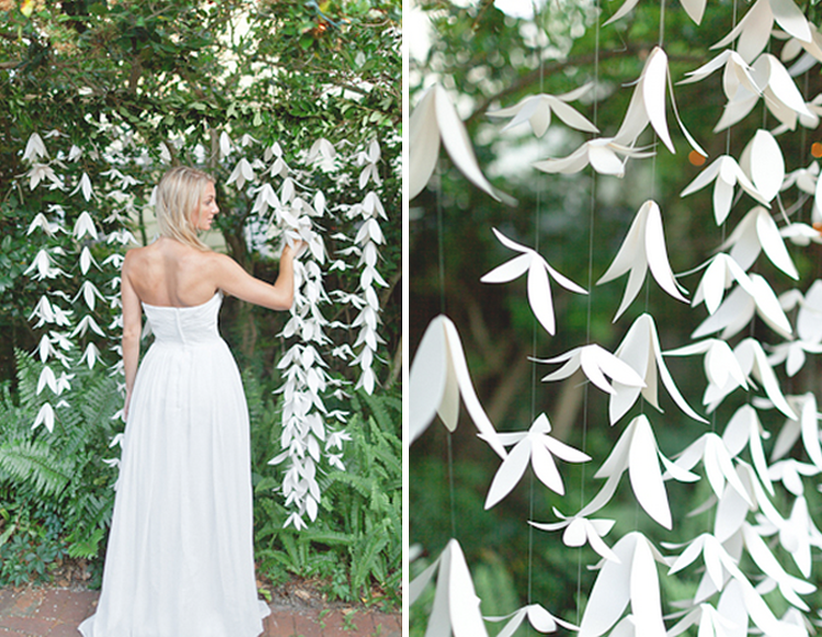 Paper flower backdrop ideas photo source crafthubs mightylinksfo